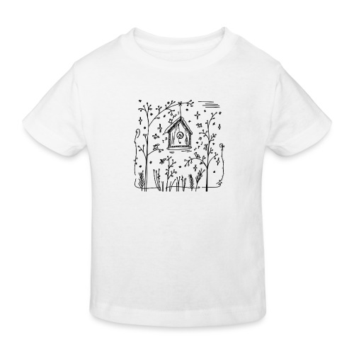 Vogelhuisje - T-shirt bio Enfant