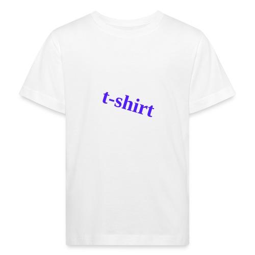 Hemd - Kinder Bio-T-Shirt