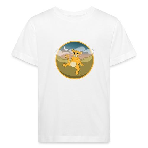 Der Kleine Löwe - hell - Kinder Bio-T-Shirt