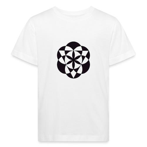 diseño de figuras geométricas - Camiseta ecológica niño