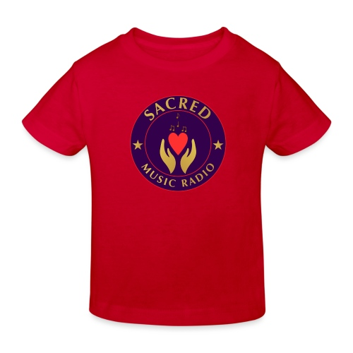 Spread Peace Through Music - Kids' Organic T-Shirt