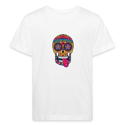 Mexican Skull - Maglietta ecologica per bambini
