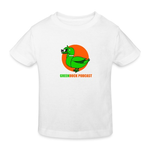 Greenduck Podcast Logo - Organic børne shirt
