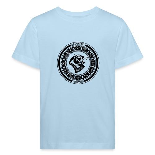 BjornfellRisingBlack - Lasten luonnonmukainen t-paita