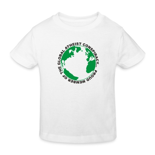 Global Atheist Conspiracy - Kids' Organic T-Shirt