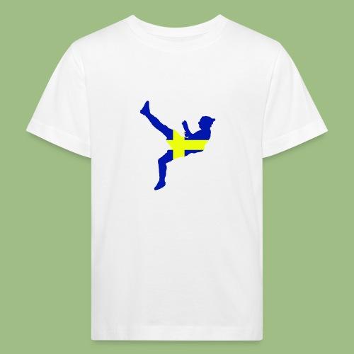 Ibra Sweden flag - Ekologisk T-shirt barn