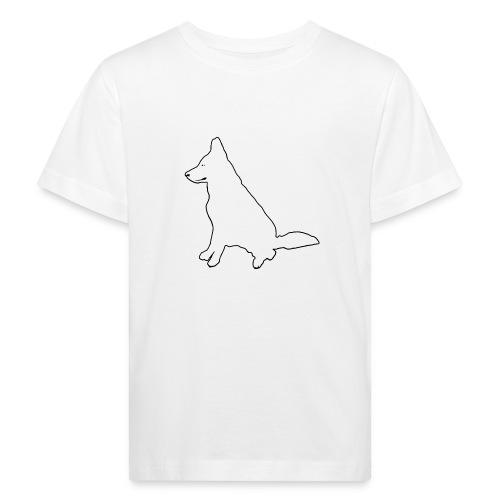 Daron White Dog - Ekologiczna koszulka dziecięca