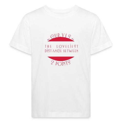 Curves - Lasten luonnonmukainen t-paita
