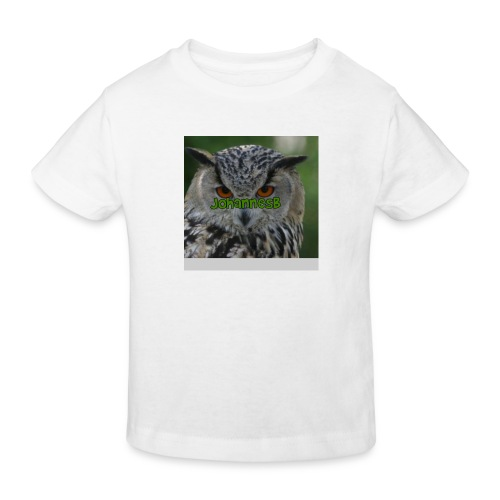 JohannesB lue - Økologisk T-skjorte for barn