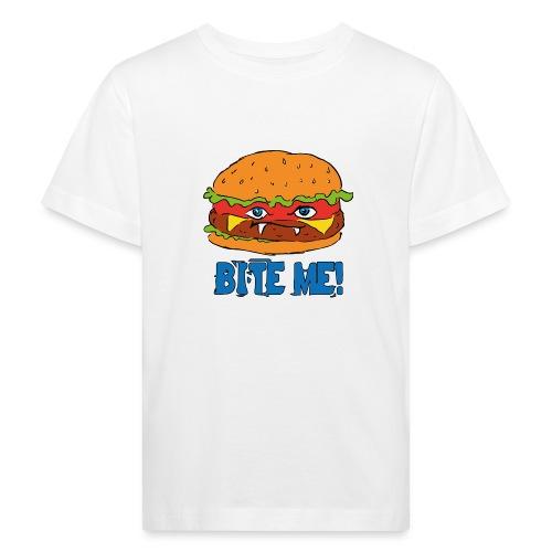 Bite me! - Maglietta ecologica per bambini
