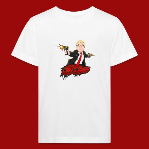 Auftragskillerx2 Comic Desing - Kinder Bio-T-Shirt