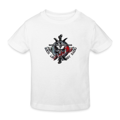 Blood Skull Logo - Ekologisk T-shirt barn