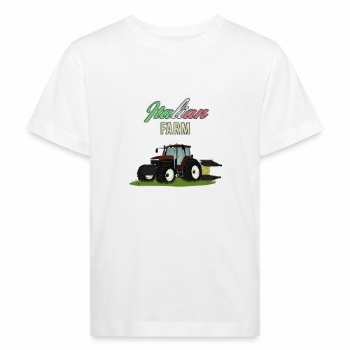 Italian Farm official T-SHIRT - Maglietta ecologica per bambini