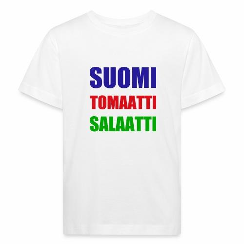 SUOMI SALAATTI tomater - Økologisk T-skjorte for barn