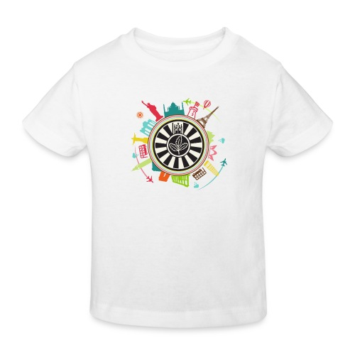 RT around the world - Kinder Bio-T-Shirt