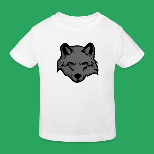 wolf logo - Maglietta ecologica per bambini