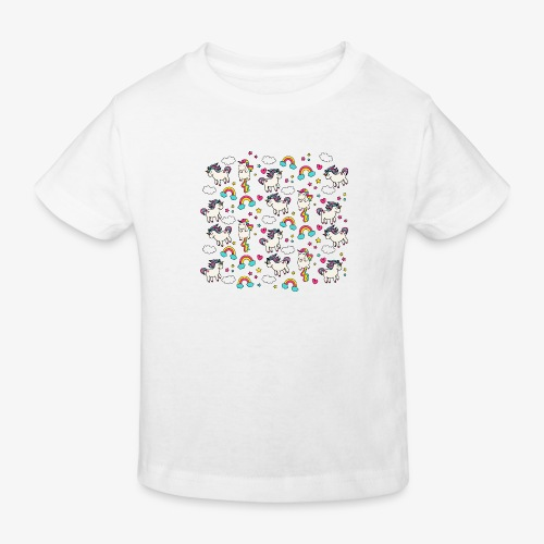 unicorns - Kids' Organic T-Shirt