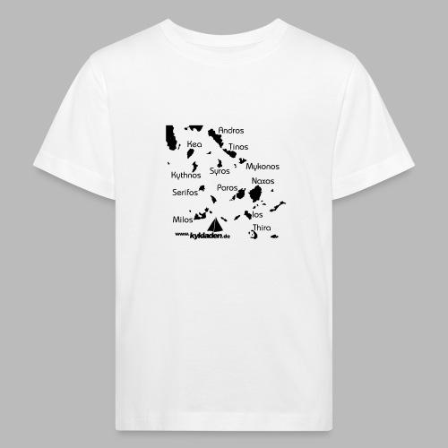 Kykladen Griechenland Crewshirt - Kinder Bio-T-Shirt