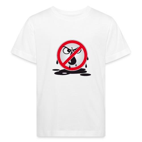 Erdöl Nein danke - Kinder Bio-T-Shirt