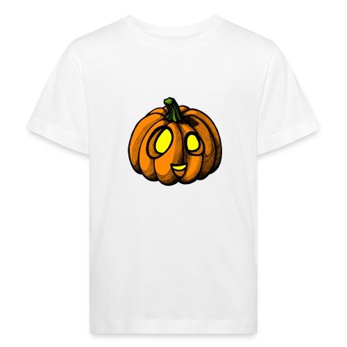 Pumpkin Halloween scribblesirii - Kids' Organic T-Shirt