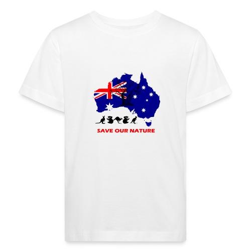 Australien - RETTE LEBEN - JETZT! - Kinder Bio-T-Shirt
