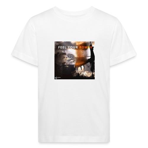 Feel your Power - Kinder Bio-T-Shirt