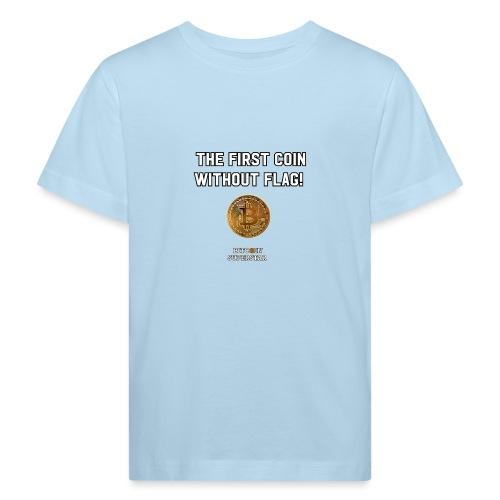 Coin with no flag - Maglietta ecologica per bambini