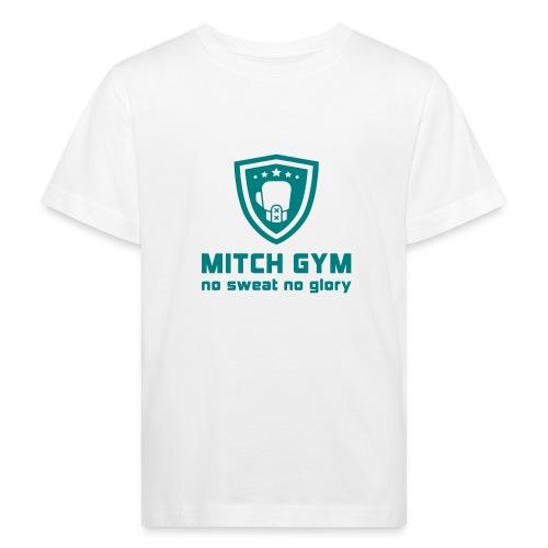 Logo_Mitch_Gym edit - Kinderen Bio-T-shirt