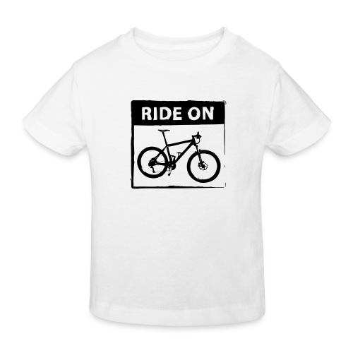 Ride On MTB 1 Color - Kinder Bio-T-Shirt