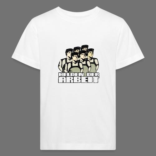 Heroes of työ - työntekijöiden Heroes (oldstyle) - Lasten luonnonmukainen t-paita