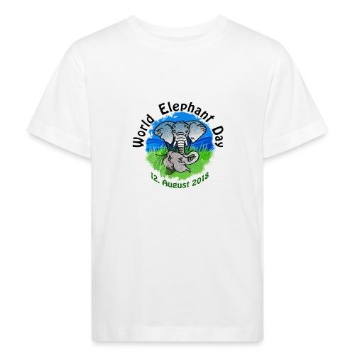 World Elephant Day 2018 - Kinder Bio-T-Shirt