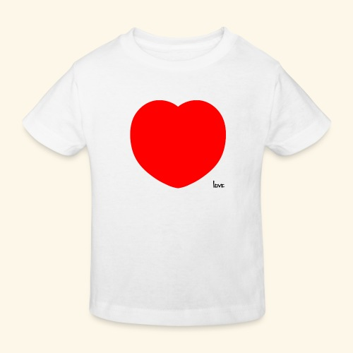 Heart - Kinder Bio-T-Shirt