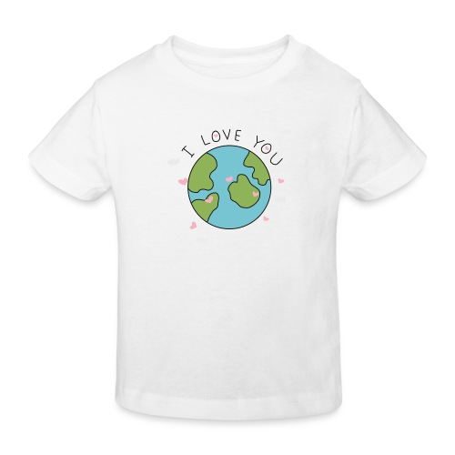 iloveyou - Maglietta ecologica per bambini
