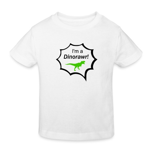 I¨m a dinorawr - Ekologisk T-shirt barn