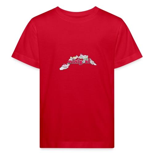 Maglietta ragazzi (Liguria) - Maglietta ecologica per bambini