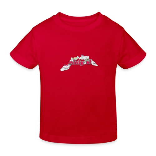 Maglietta Uomo Liguria - Maglietta ecologica per bambini