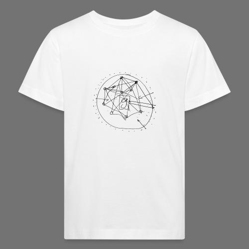 SEO strategia No.1 (musta) - Lasten luonnonmukainen t-paita