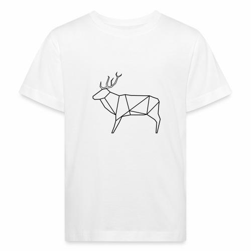 Wired deer - Kinderen Bio-T-shirt