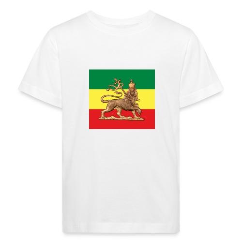 Lion of Judah - Rastafara - Kinder Bio-T-Shirt