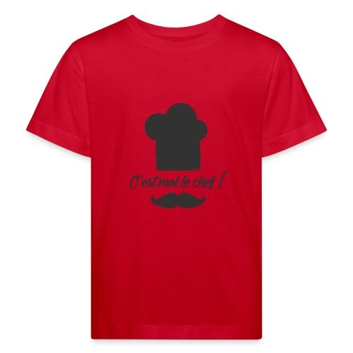 Moi le chef ! (H) - T-shirt bio Enfant