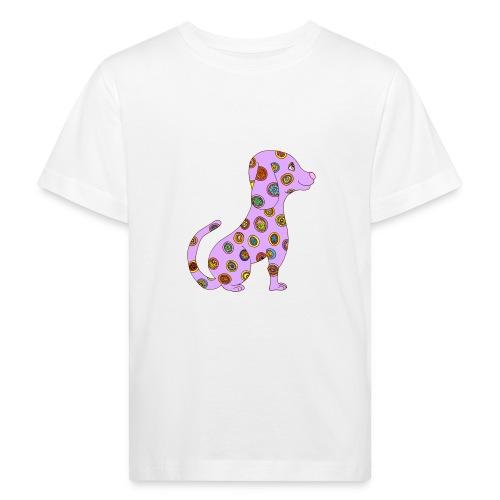 Le chien fleuri - T-shirt bio Enfant