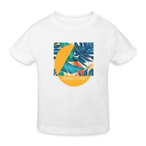 Orange Planet - Kinder Bio-T-Shirt