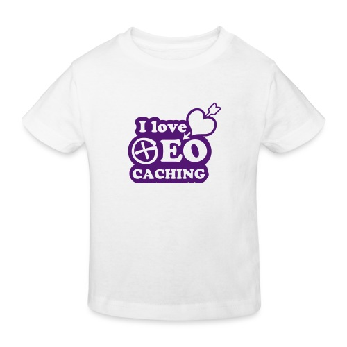 I love Geocaching - 1color - 2011 - Kinder Bio-T-Shirt