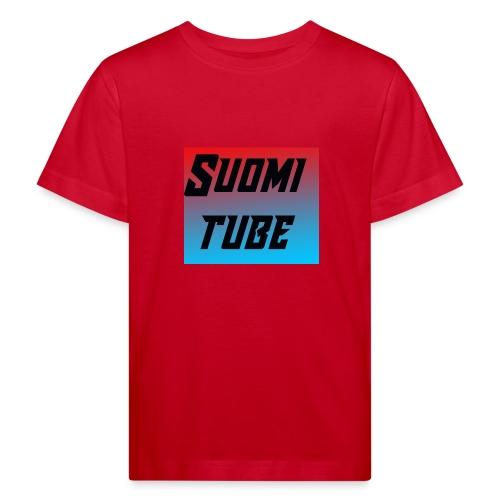 SuomiTube - Lasten luonnonmukainen t-paita