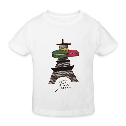 Paris - Kinder Bio-T-Shirt