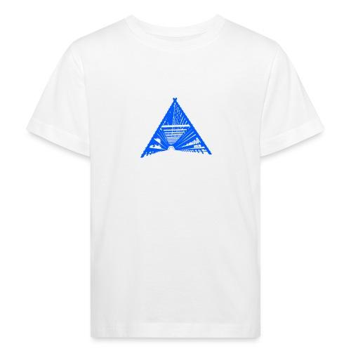 Fiskehjell Bergen. blå - Økologisk T-skjorte for barn