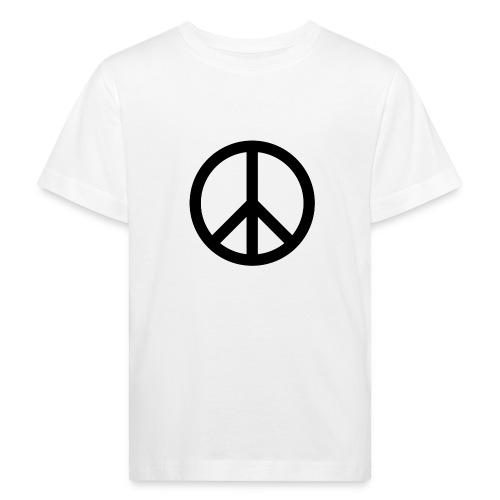 Peace Teken - Kinderen Bio-T-shirt