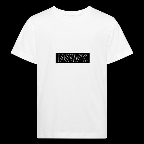 BLACK WAVY. RECTANGLE - T-shirt bio Enfant
