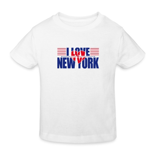 love new york - T-shirt bio Enfant
