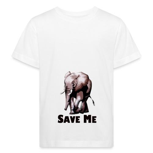 Elefant - SAVE ME - Kinder Bio-T-Shirt